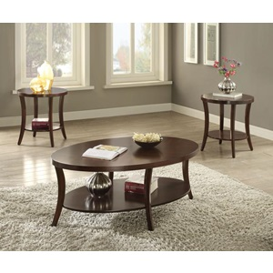 82260 3PC PACK COFFEE/END TABLE SET