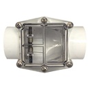 "CHECK VALVE: 2"" CR  BACK FLOW PREVENTION PVC"