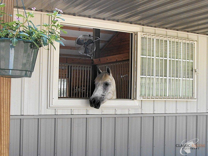 Hinged Barn Windows Classic Equine Equipment