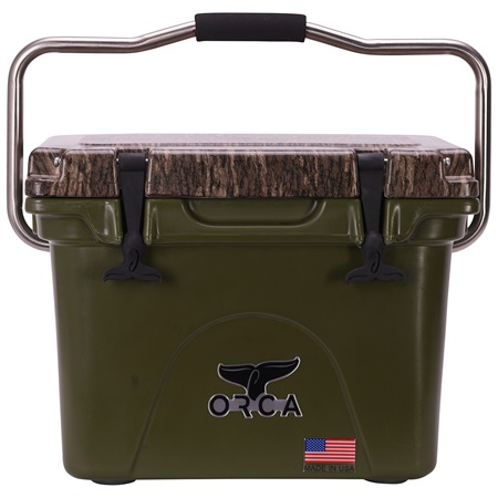 Mossy Oak Bottomland Camo Lid Green 20 Quart