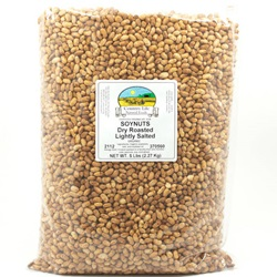 Soynuts, Dry Roasted, Low Salt - Organic (5lb Bag)