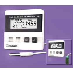 Traceable® Thermometer with Time/Date Max/Min (Traceable)