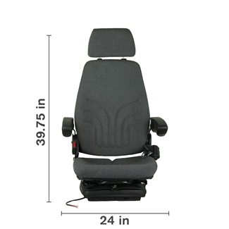 Agricultural Deluxe Cab Air Suspension Seat
