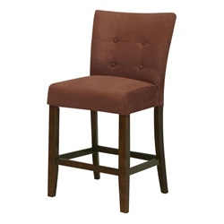 16833 CHOCOLATE MFB COUNTER H. CHAIR