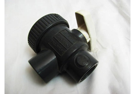 CPVC True-Union Ball Valve Slip x Slip Viton Seals