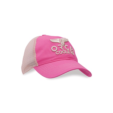Pink Low Profile Bubble Letter Hat