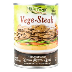 Heritage Foods, Vege-Steaks - 19oz