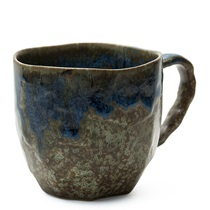 BOULDER MUG - BROWN & BLUE