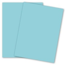 8.5 X 11 20 LB BLUE DOMTAR EARTHCHOICE COPY PAPER, 81199, 500/RM 10 RM/CA