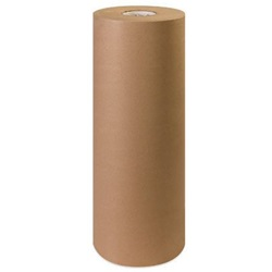 "24"" X 900' 40 LB BROWN KRAFT PAPER ROLL"