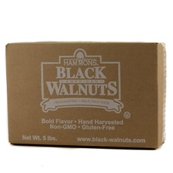 Walnuts, Black Fancy, Large Pieces