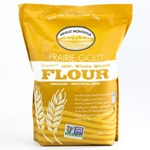 Whole Wheat Flour, Prairie Gold (From White Berries)