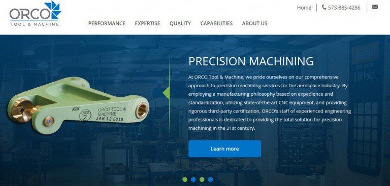ORCO Tool and Machine Live on Nomad erpCommerce