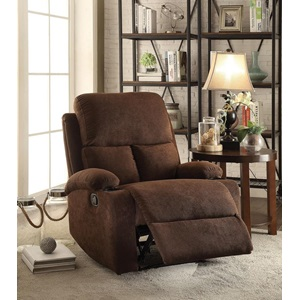 59547 CHOCOLATE RECLINER
