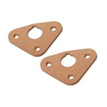 64-66 Leather Wiper Pivot Seals (Pair)