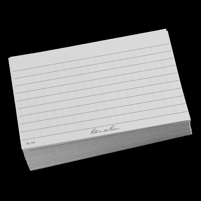 No. 991B-KIT Index Card Wallet Black