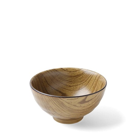 "Mokume Usucha 4.5"" Rice Bowl"