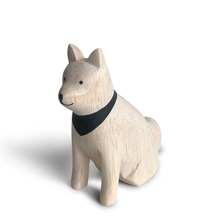 T-Lab Wooden Animal - Akita Dog