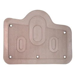 Steering Floorplate, Brown