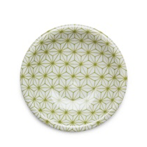 "ASANOHA COLORS 4.75"" DISH - GREEN"