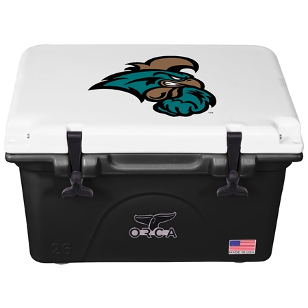 Coastal Carolina University Black/White 26 Quart