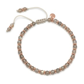 Lola Rose Notting Hill Bracelet, Labradorite with Rose Gold