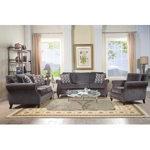 50291 FABRIC LOVESEAT W/2 PILLOWS