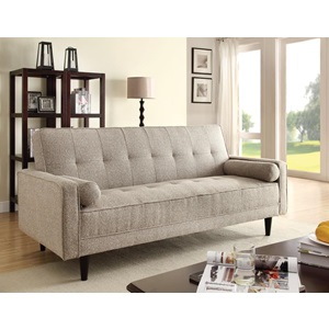 57071 SAND ADJUST. SOFA W/2 PILLOWS
