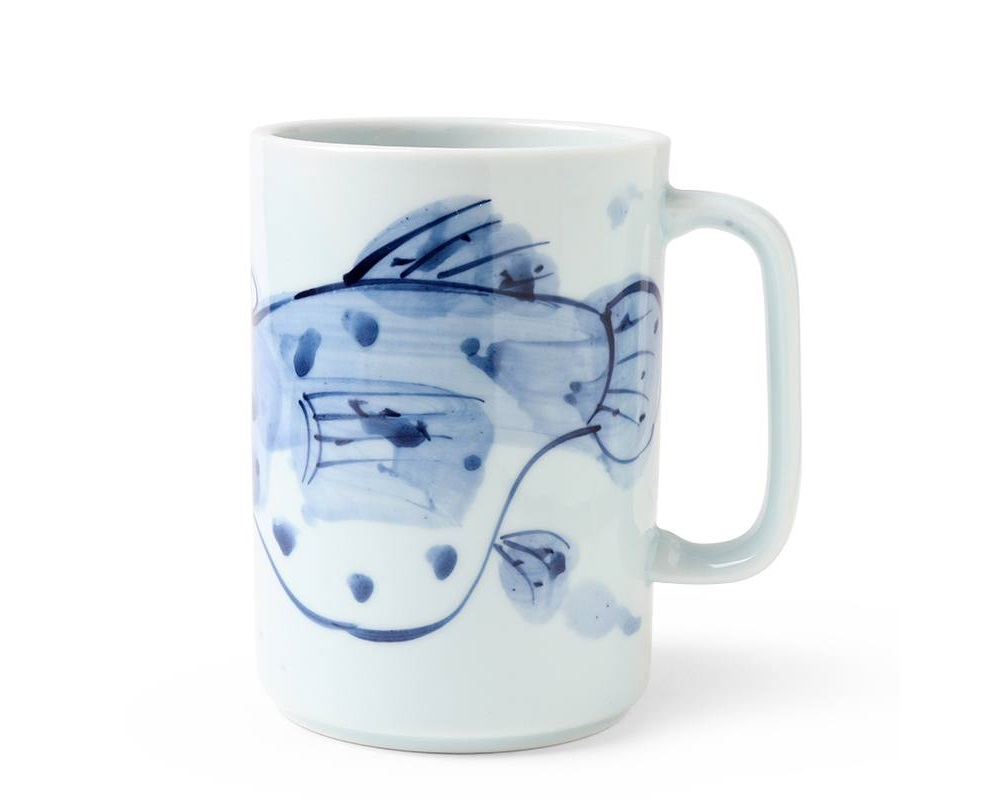 Mug Blue Fugu 16 oz.