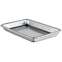 "Winco ALXP-0609 6.5"" x 9.5"" Eighth Size Aluminum Sheet Pan"