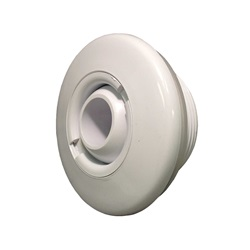 "JET INTERNAL: 3-1/4"" STANDARD WALL FITTING WITHOUT NUT WHITE"