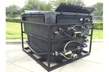 1250 Gallon Brinemaker - Gas Powered