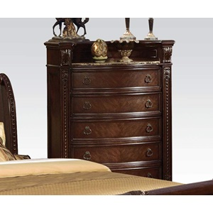 10316 MARBLE TOP CHEST