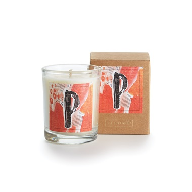 Monogram P Boxed Votive
