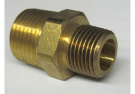 Brass MPT x MPT Hex Reducer Bushings