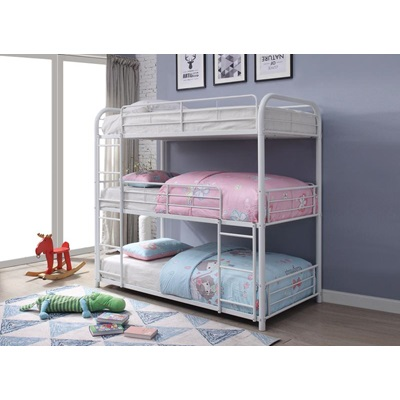 38110 CAIRO, WHITE BUNK BED