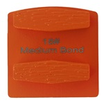 Double Hex Medium Bond 18 Grinder Tooling Compatible With: Husqvarna® Redi Lock®