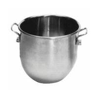 Johnson Rose 40 Qt Stainless Steel Hobart Mixer Bowl
