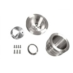 65-69 289-302 Billet Pulley Kit Triple Groove