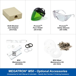 Megatron Manual M50 - Optional Accessories