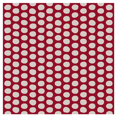 "Furoshiki 41"" Sq. Ishi Rock Red"