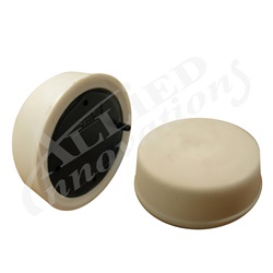 AIR BUTTON: SOFT ACTUATOR, FLUSH MOUNT, WHITE