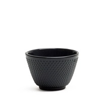 CAST IRON TEACUP - BLACK