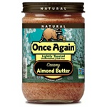 Almond Butter, Lightly Toasted (Creamy) - 16 oz