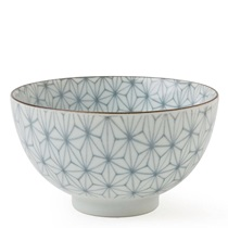 "Asanoha Colors 4.5"" Rice Bowl - Gray"