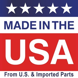 Made in the USA from US & Imported Parts