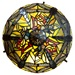 "10.5""H Tiffany Style Dragonfly Accent Lamp"