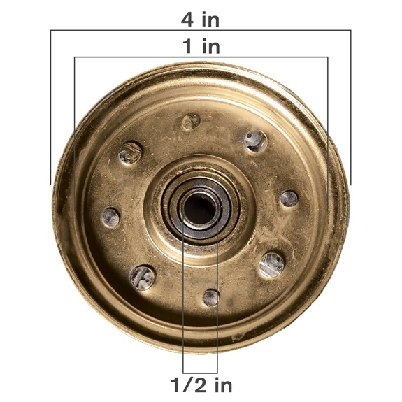 Flat Type Idler Pulley-BOOK