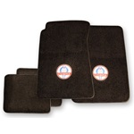 Floor Mats set with Classic Cobra logo (Black)
