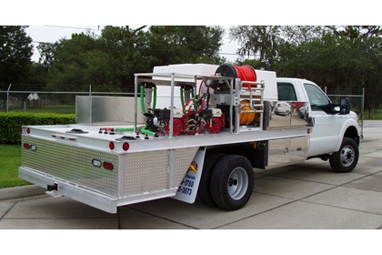 Open-Style Lawn Care & Pest Control Spray Truck | 1000 Series